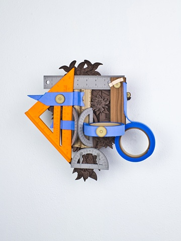 Golem #60; cuckoo clock with tools