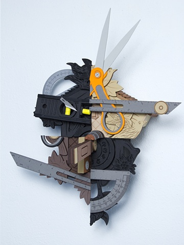 Frankenstein's Monster #4; cuckoo clocks with tools