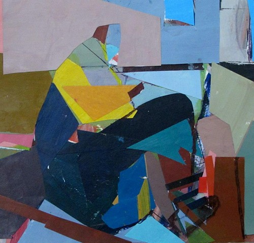 collage, model, figurative abstractions