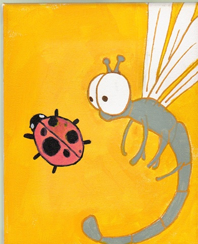 the dragonfly and the ladybug(coming soon?)