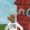 Danny the Astronaut Deer! (1st book, ver.2)