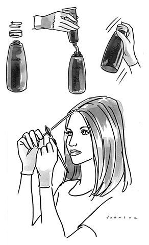 L'Oréal Instruction Sheet