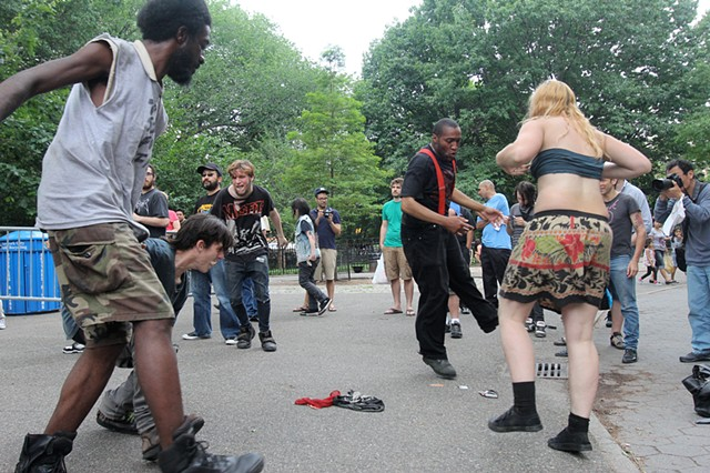 Tompkins Square Slam Dancers