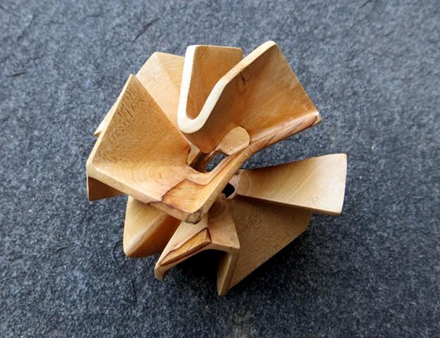 wood abstract angular natural