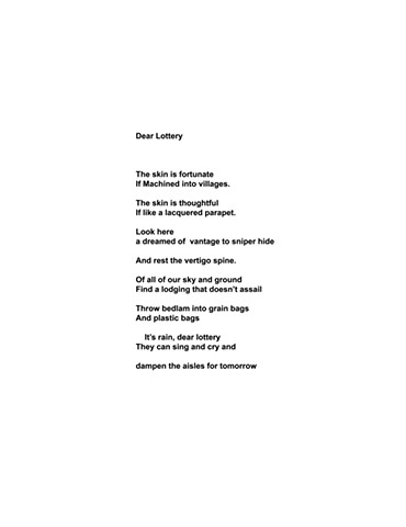Dear Lottery