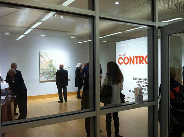 Opening at Flinn Gallery
