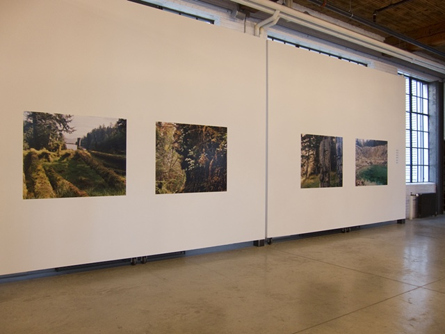 Installation Shot, Collision 6, 2010 Parisian Laundry, Montreal
