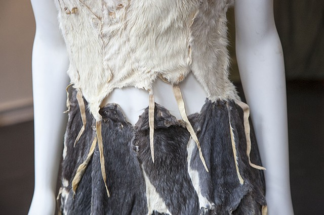 rat dress close up