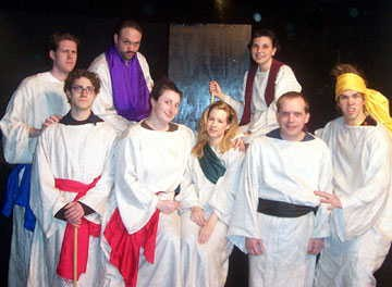 "The cast of ""Dirty Bible Stories""."