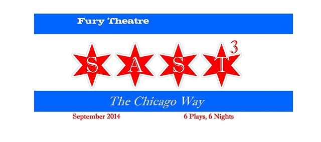 Banner for production at Fury Theatre Company, 2014.