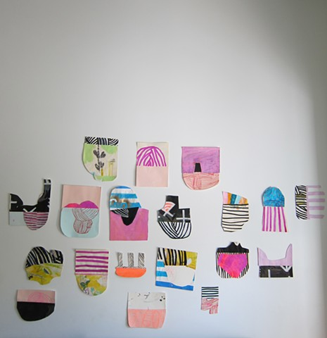 Paper Objects Series: Installation View