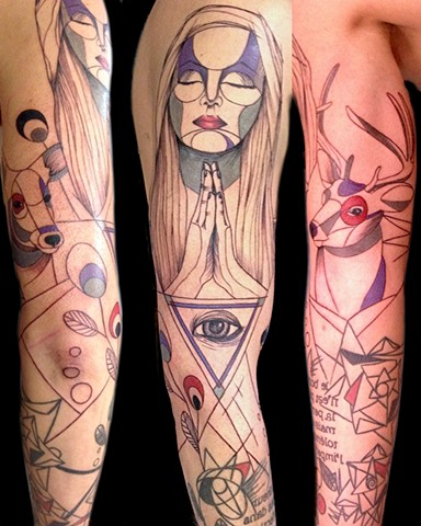 Addition to existing lower arm(not by me)