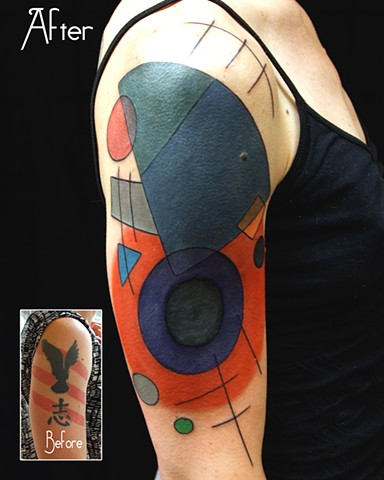 Geometric cover up