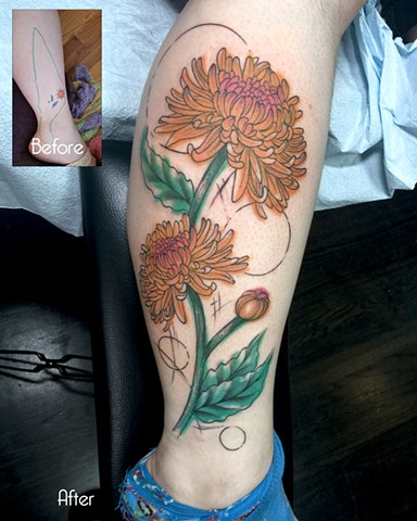 Chrysthanemum cover up