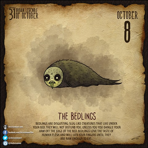 Day 8: Bedlings