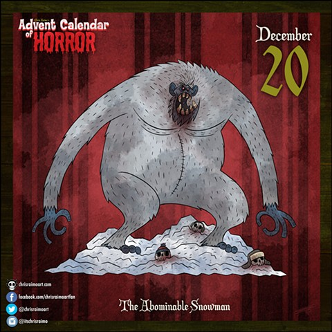 Day 20: The Abominable Snowman