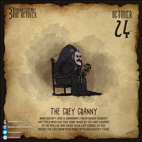 Day 24: The Grey Granny