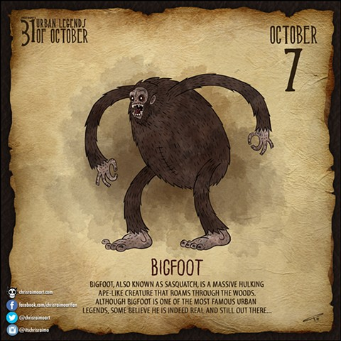 Day 7: Bigfoot