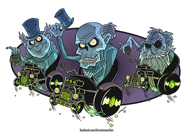Hitchhiking Ghosts Finks