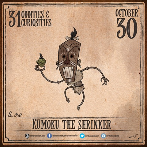 Day 30: Kumoku The Shrinker