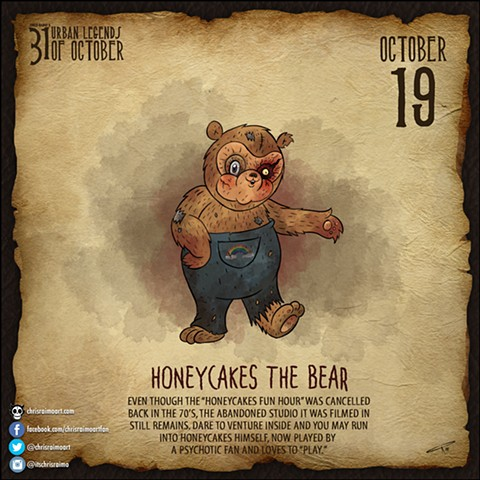 Day 19: Honeycakes the Bear