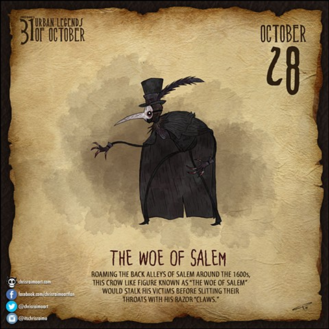 Day 28: The Woe of Salem