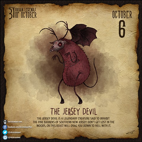 Day 6: The Jersey Devil