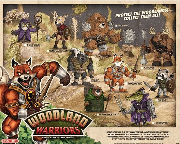Woodland Warriors: Warriors of the Woodlands