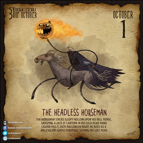 Day 1: Headless Horseman