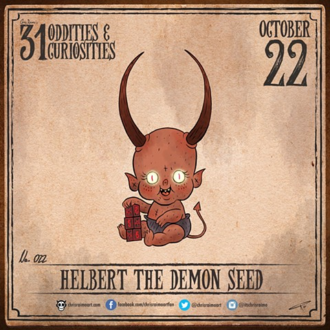 Day 22: Helbert the Demon Seed