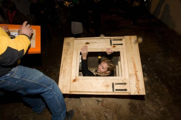 """An exercise in last stands / where do we go now or I'll burn that bridge when i get there"""
