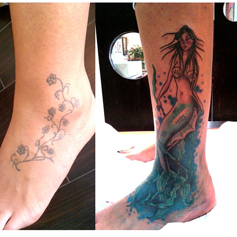 Mermaid cover up