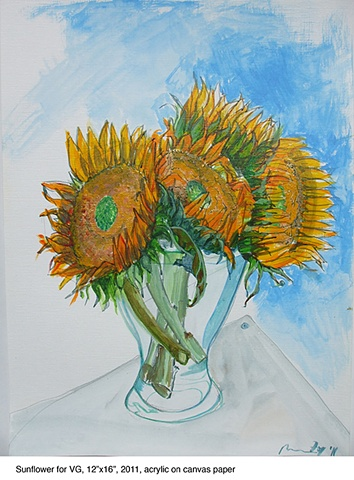 Sunflowers for VG