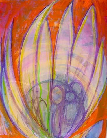 Vibrational flowering
