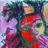 Jean Michel Basquiat and Rumi
