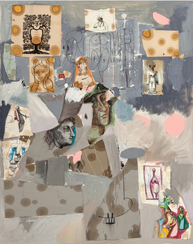 George Condo New Yorkers of the 19th century