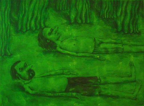 Rabindranat Diaz-Cardona Héroes y antihéroes: pinturas de amor, acción y miedo