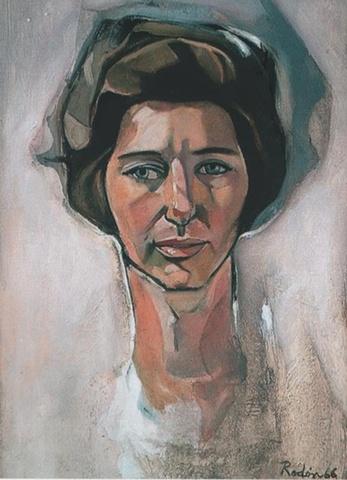Francisco Rodon Retrato sin Titulo