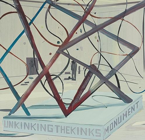 Jules de Balincourt Unkinking the Kinks