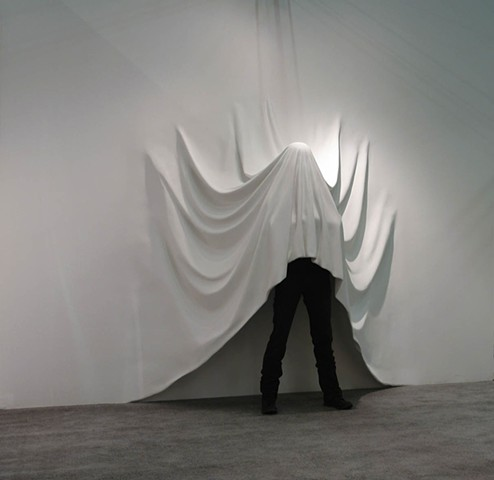 Daniel Arsham Draped Figure