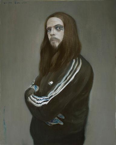 Alexander Tinei Portrait of a German Artist (Jonathan Meese)