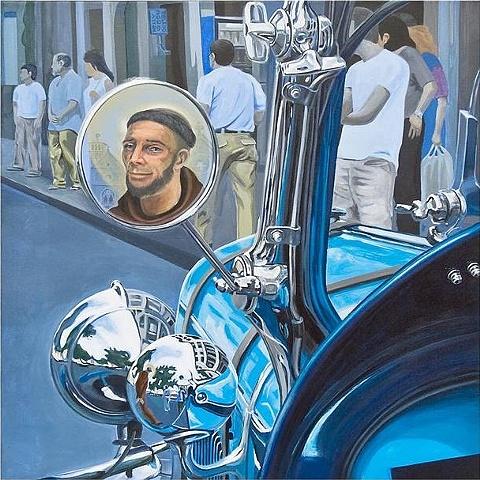 Nelly Toledo San Francisco y el pajaro azul