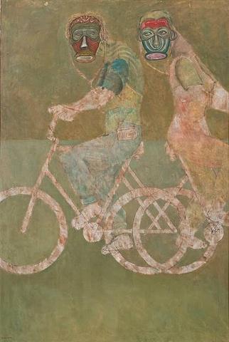 Elizam Escobar Los Bicicletistas