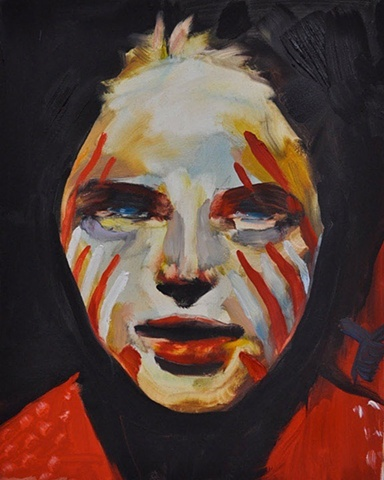 Juliana Romano Painted Face