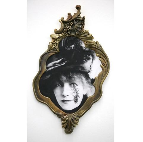 Francesco Vezzoli La Voyante (A portrait of Sarah Bernhardt)