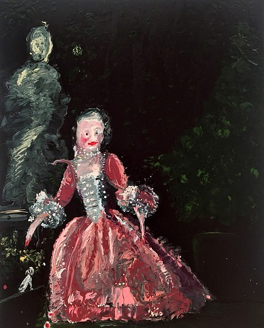 Genieve Figgis Madame de Pompadour (after Boucher)