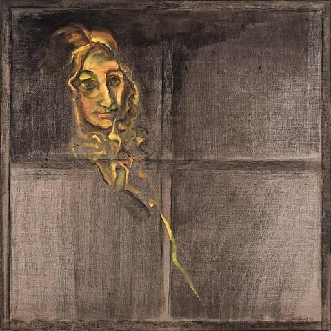 Antonio Martorell Madam Reiset de Ingres en la ventana