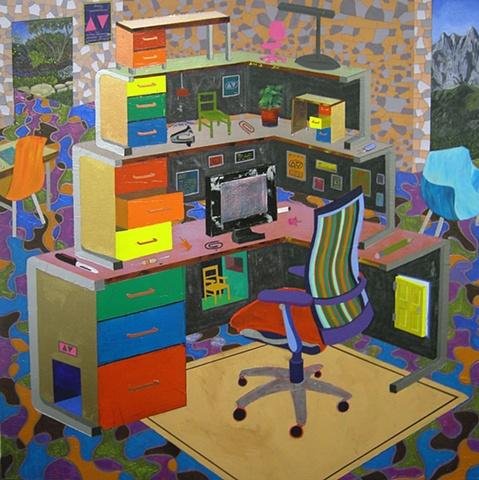 Jeremy Couillard Boss' Desk