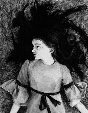 Katie Miller Girl on a Carpet