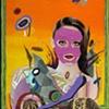 Amir H. Fallah Pink Mask